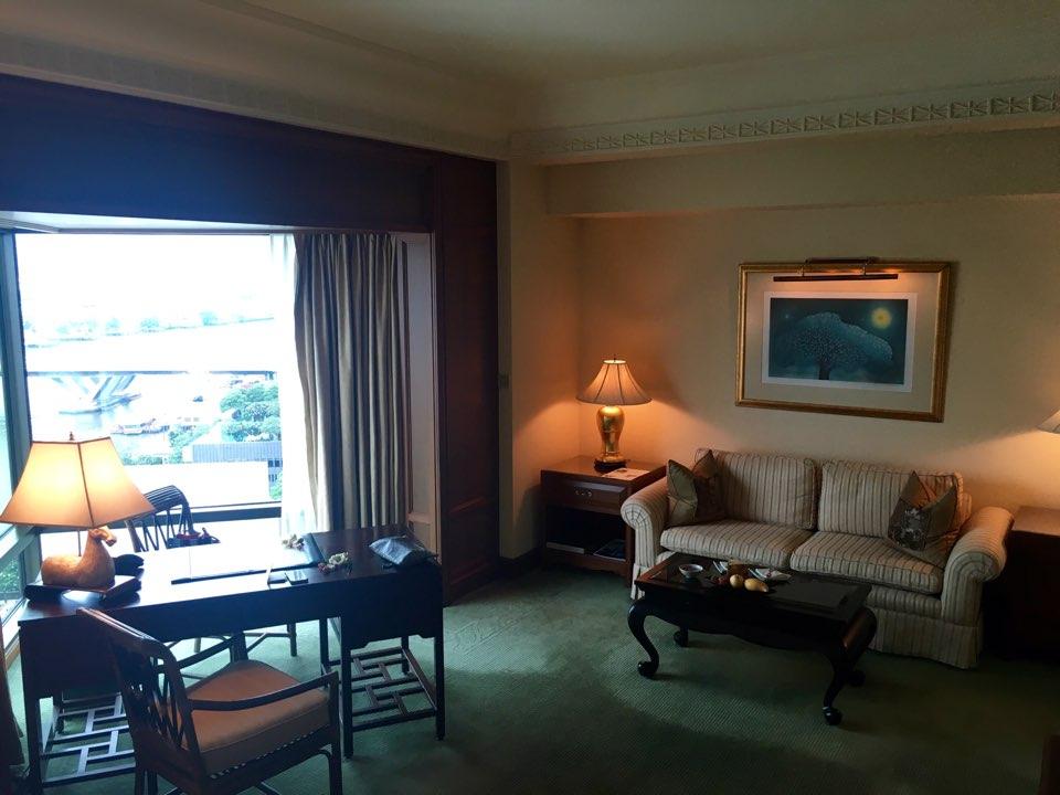 방콕 여행기(페닌슐라 호텔 객실보기)