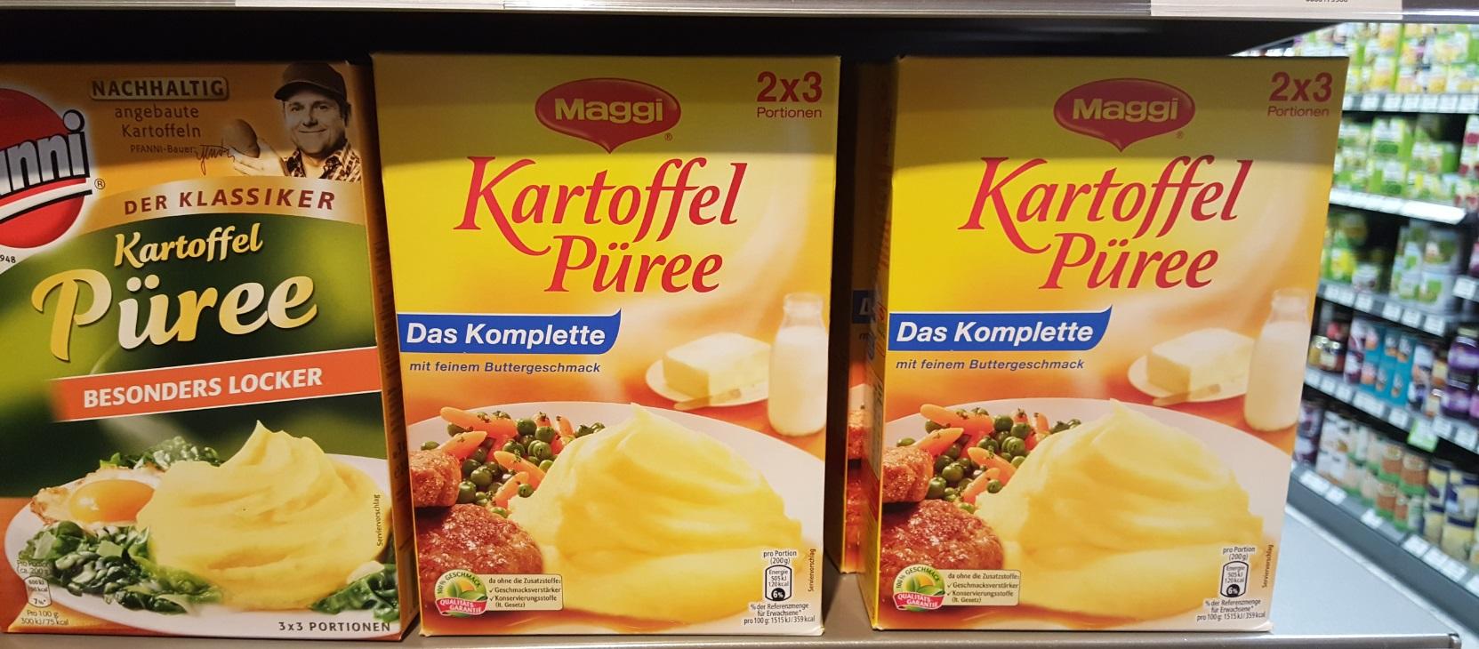 [독일] 감자 퓨레 Kartoffel puerre