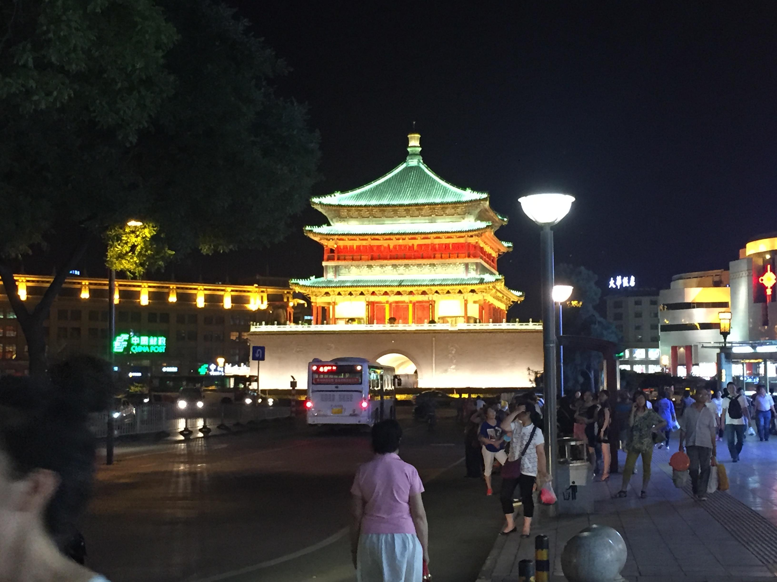 시안(西安):한밤의 회족(回族)시장