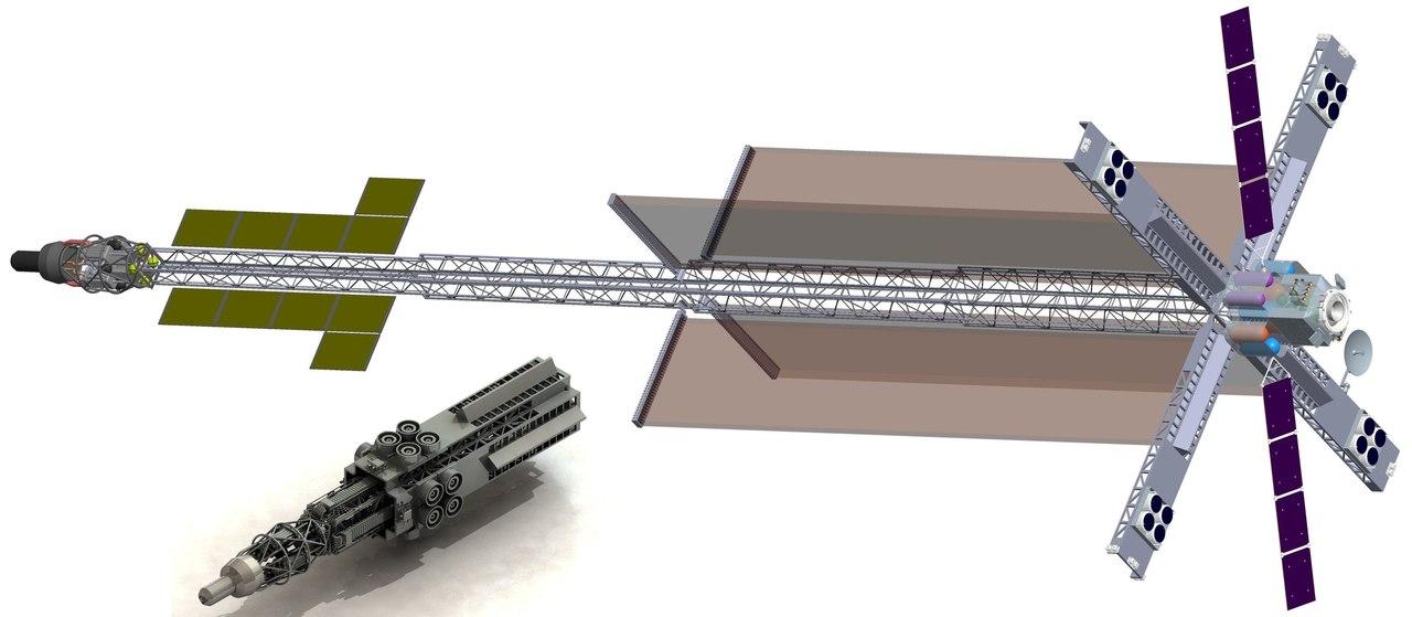 2018년까지 원자력엔진기반 우주 에너지-운송모듈..