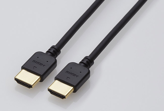 Elecom에서 4K 영상전송 지원 HDMI 케이블 2가지..