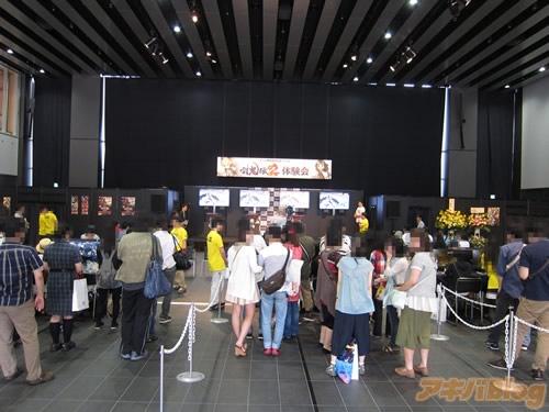 게임 '토귀전2' 발매 직전 기념 체험회 리포트 사진..