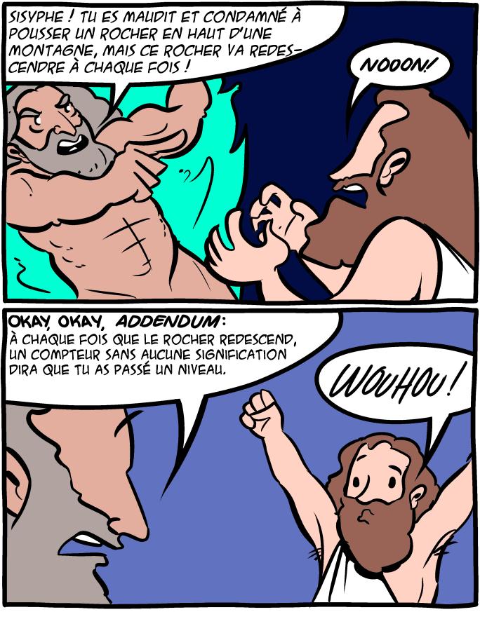 오늘의 지식 - 시지프스의 돌!