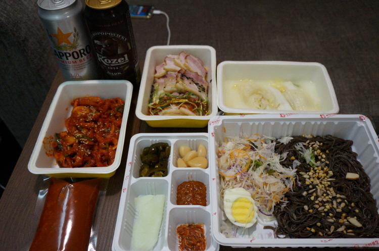 강남 배달음식 미스터보쌈 바비큐보쌈세트 바비큐..