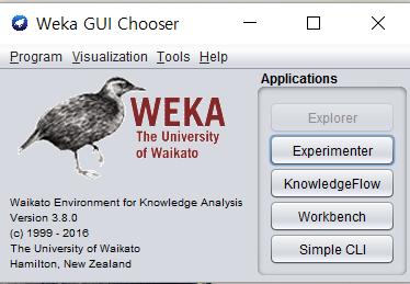 데이터 마이닝 툴 사용하기(WEKA)