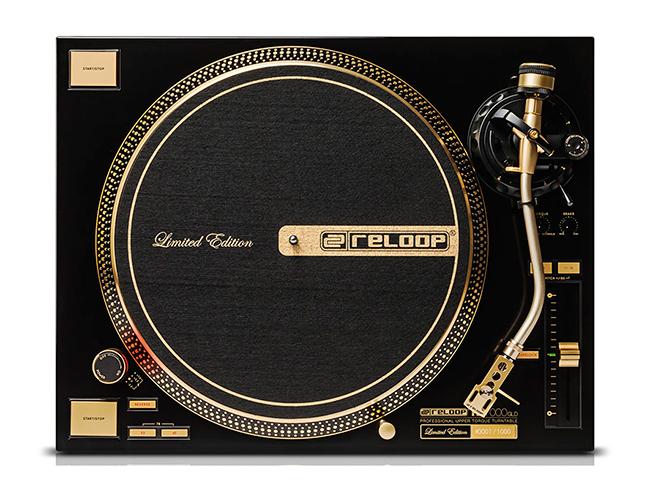 Reloop에서 창립 20주년 기념 DJ 턴테이블을 내놨..