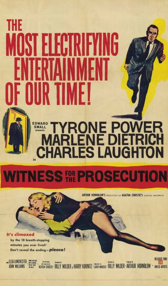 정부 / Witness For The Prosecution (1957년)