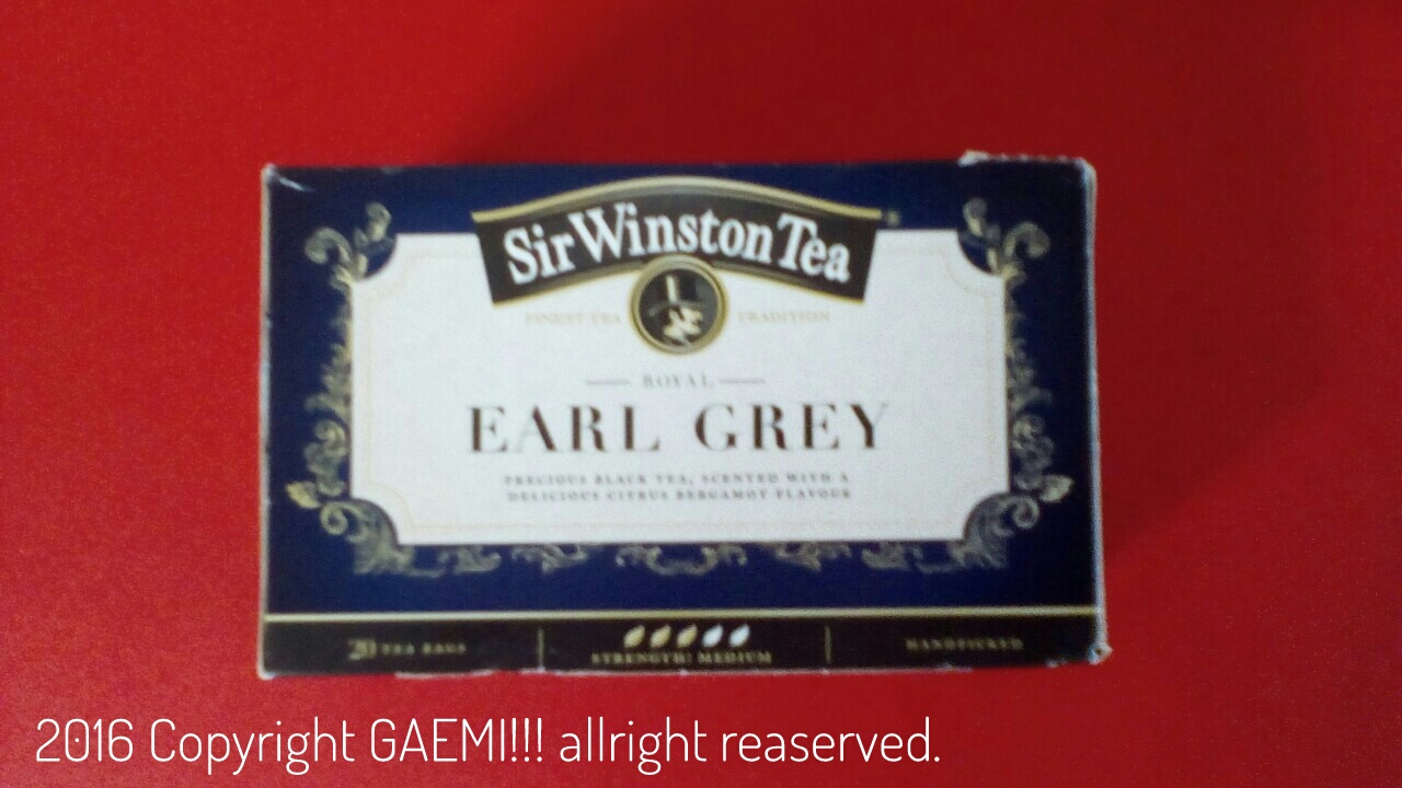 [UK] Sir.Winston Tea Earl gray
