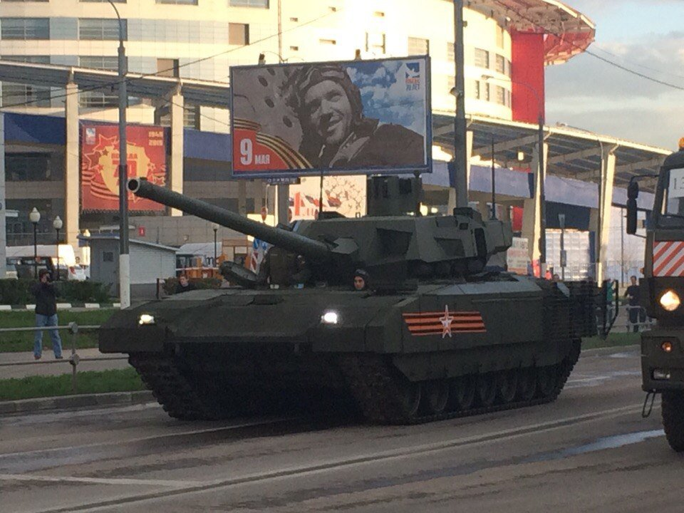 T-14의 100대 도입의 결정적 증거 - 국방부가 테스트..