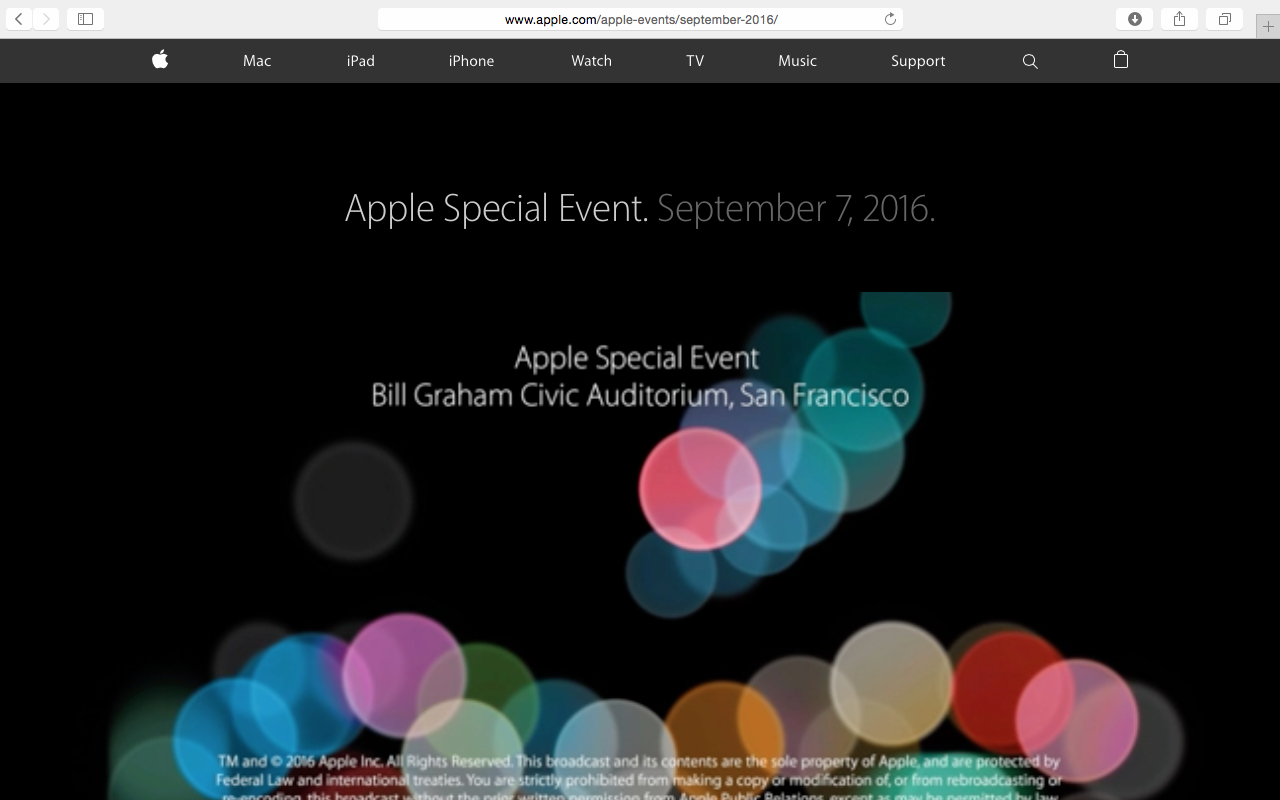 [BLACKDIA] ..... Apple Special Event ..