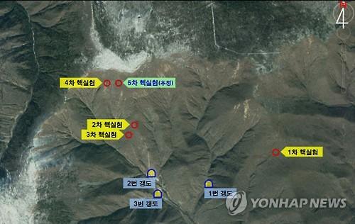 북한이 크리스마스 기념 선물이라도 보내주려나 ..