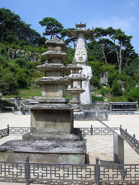 논산 관촉사 석탑