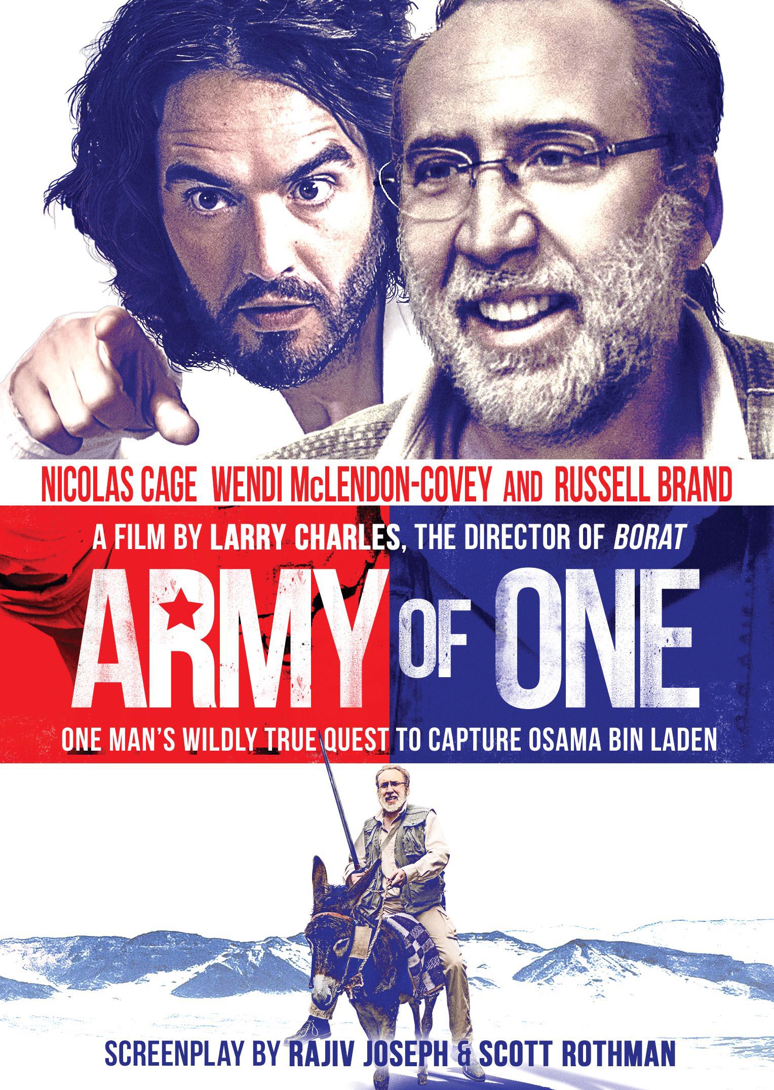 """니콜라스 케이지 + 러셀 브랜드 신작, """"Army of One.."""