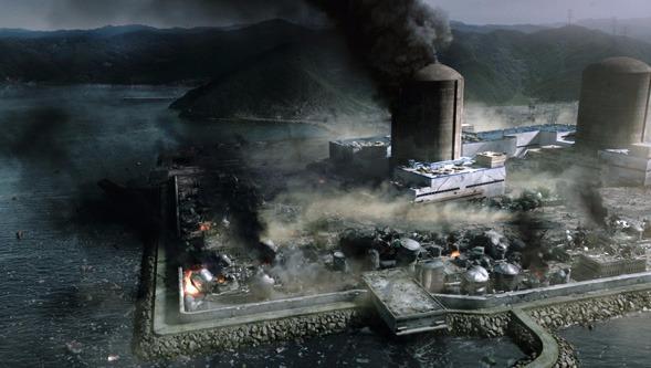 """지진과 원전에 대한 영화, """"판도라"""" 스틸컷입니다."""
