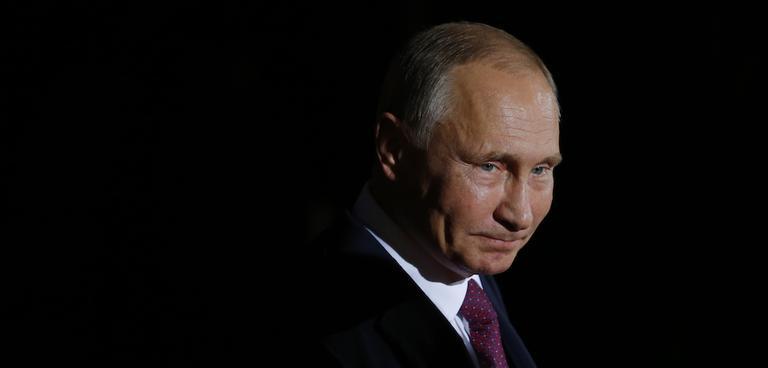 아라비아의 블라디미르 - 푸틴의 전략