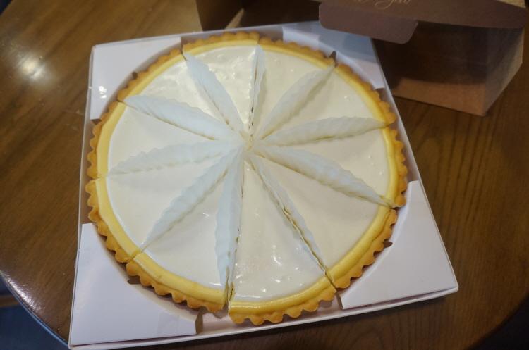 빼빼로데이 선물로 남자친구가 만들어준 레몬치즈..