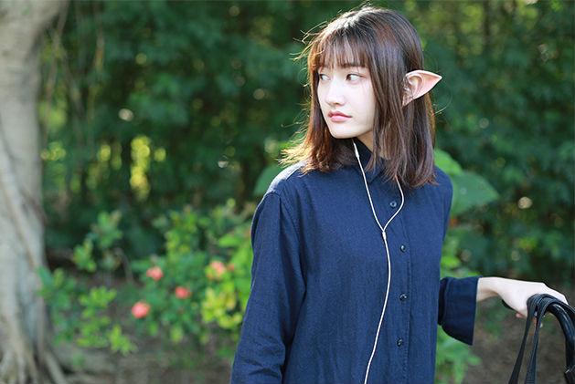 귀에 끼우면 '엘프귀'가 되는 이어폰이 중국의 쇼핑..