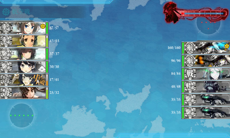 [칸코레]E-2 병난이도 클리어!