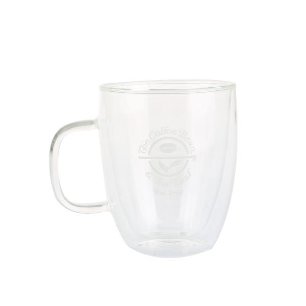 커피빈 이중 글라스 머그(500ml)