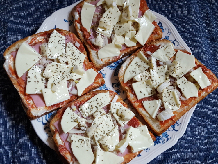 피자토스트 만들기 :)