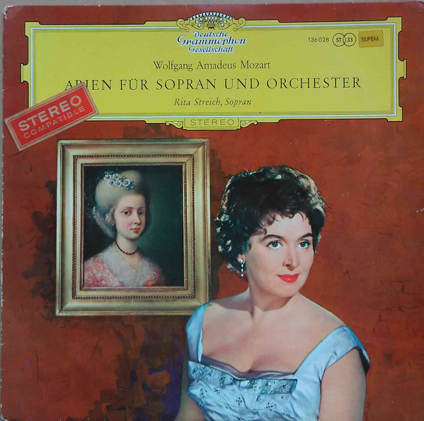 Rita Streich; Mozart solo recordings with or..