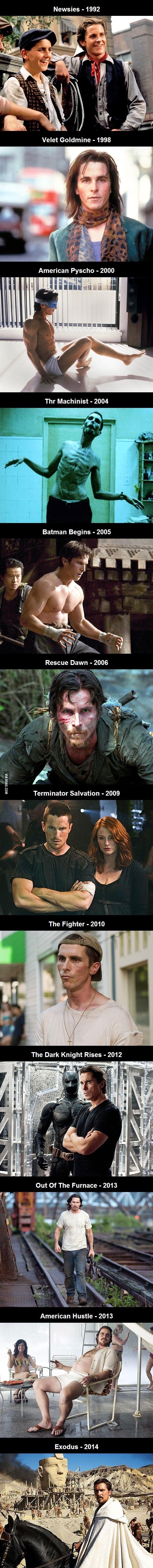 어느 배우의 20년간 신체변화