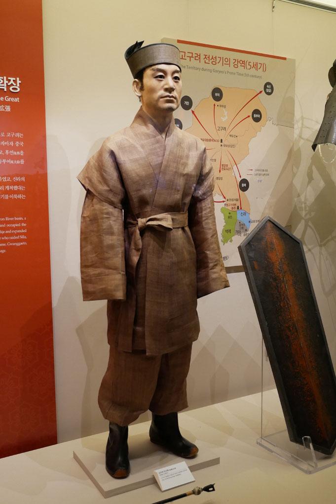 전쟁기념관 - 제 1 전시관 일부 하나