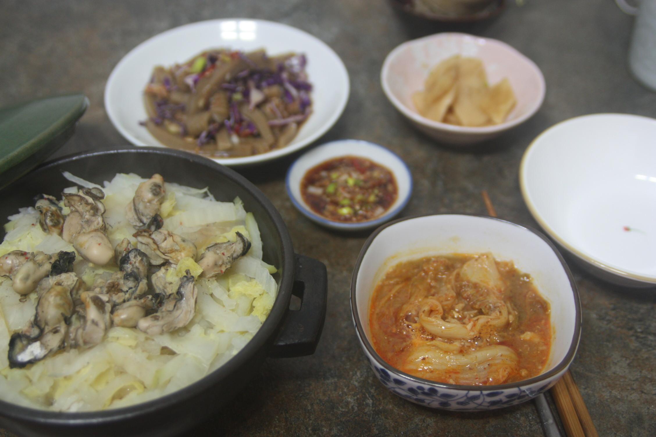 굴배추밥, 푸짐한 겨울 한 그릇