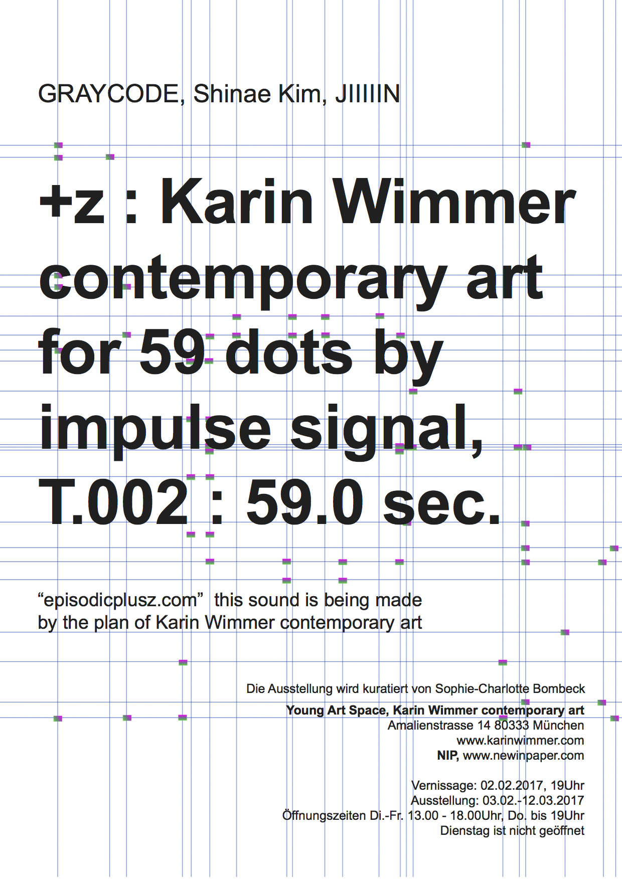 +z : Karin Wimmer contemporary art for 59 dots ..