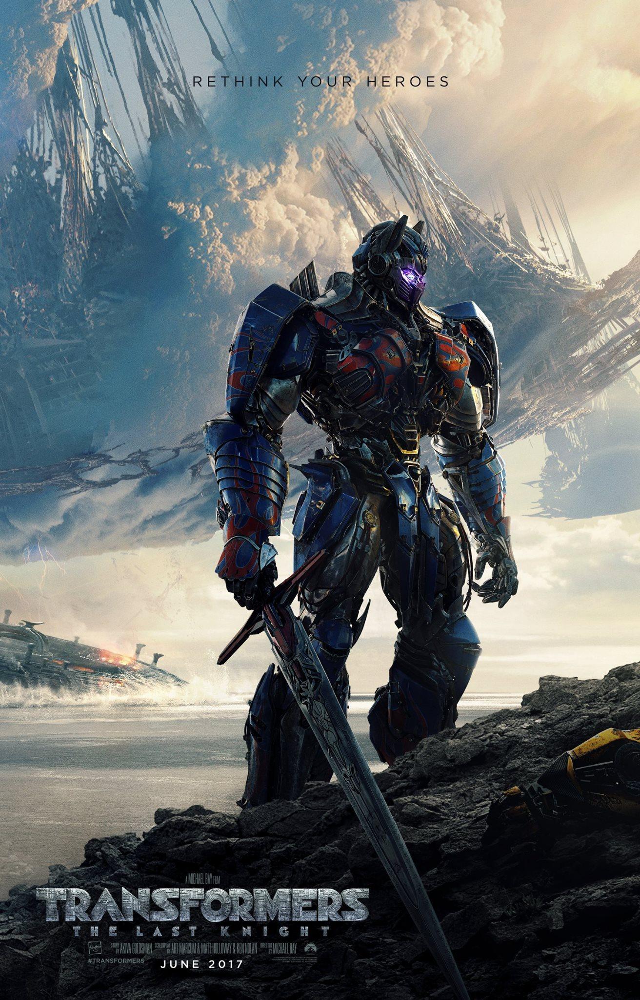 """Transformers: The Last Knight"" 슈퍼볼 예고.."