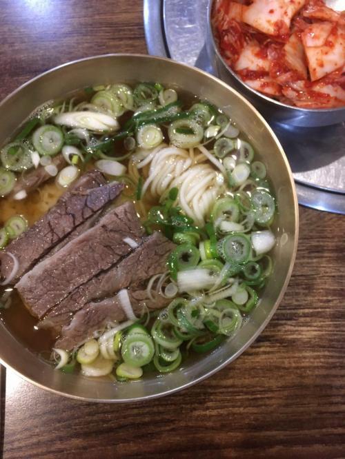 애성회관 - 서울 곰탕 맛집
