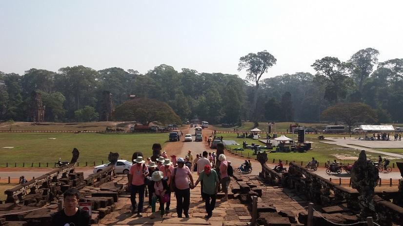 캄보디아 투어 둘째날(바이욘사원)