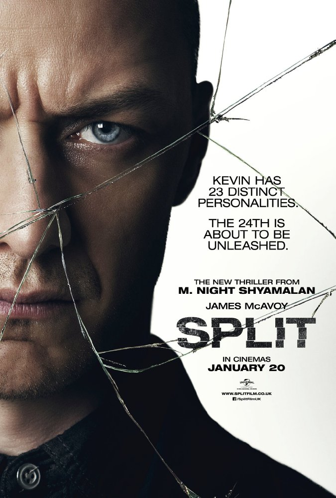 23 아이덴티티 (Split, 2016)