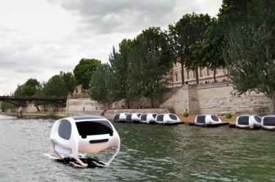 파리 센느강을 날아다닐 수상택시: Sea Bubble