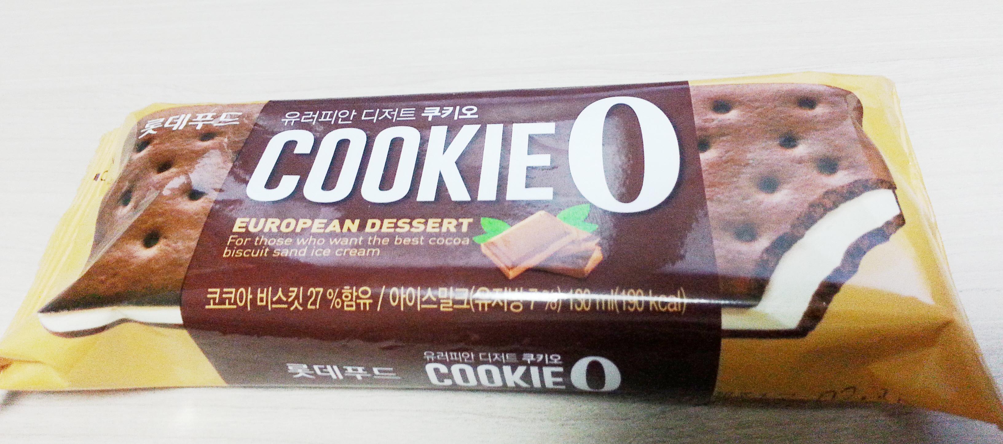 [아이스크림,롯데리아] 쿠키오, 치즈스틱