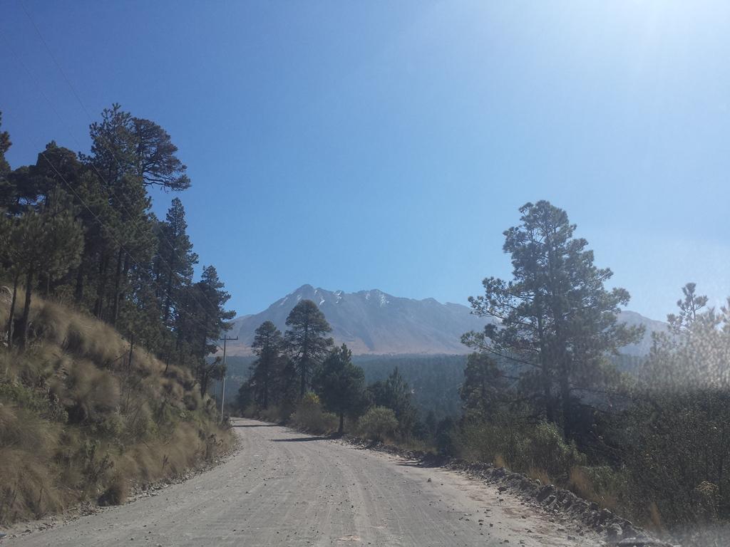 [멕시코] 눈 덮힌 화산에 오르다