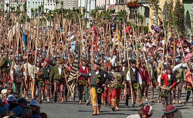 용병의 라이벌, 스위스 용병 vs 란츠크네흐트 (8)