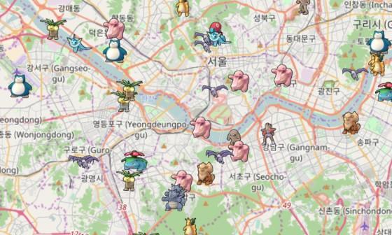 Openstreetmap 으로  서울, 런던 같은 도시 실시..