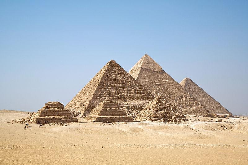 피라미드 : pyramid - 인류 건축사의 신비로움