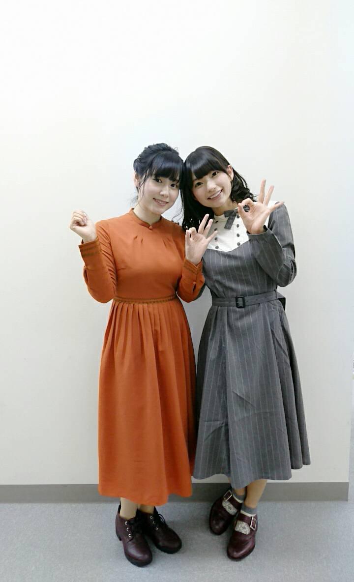 성우 츠다 미나미 & 코노 마리카의 사진, 라디오 방..