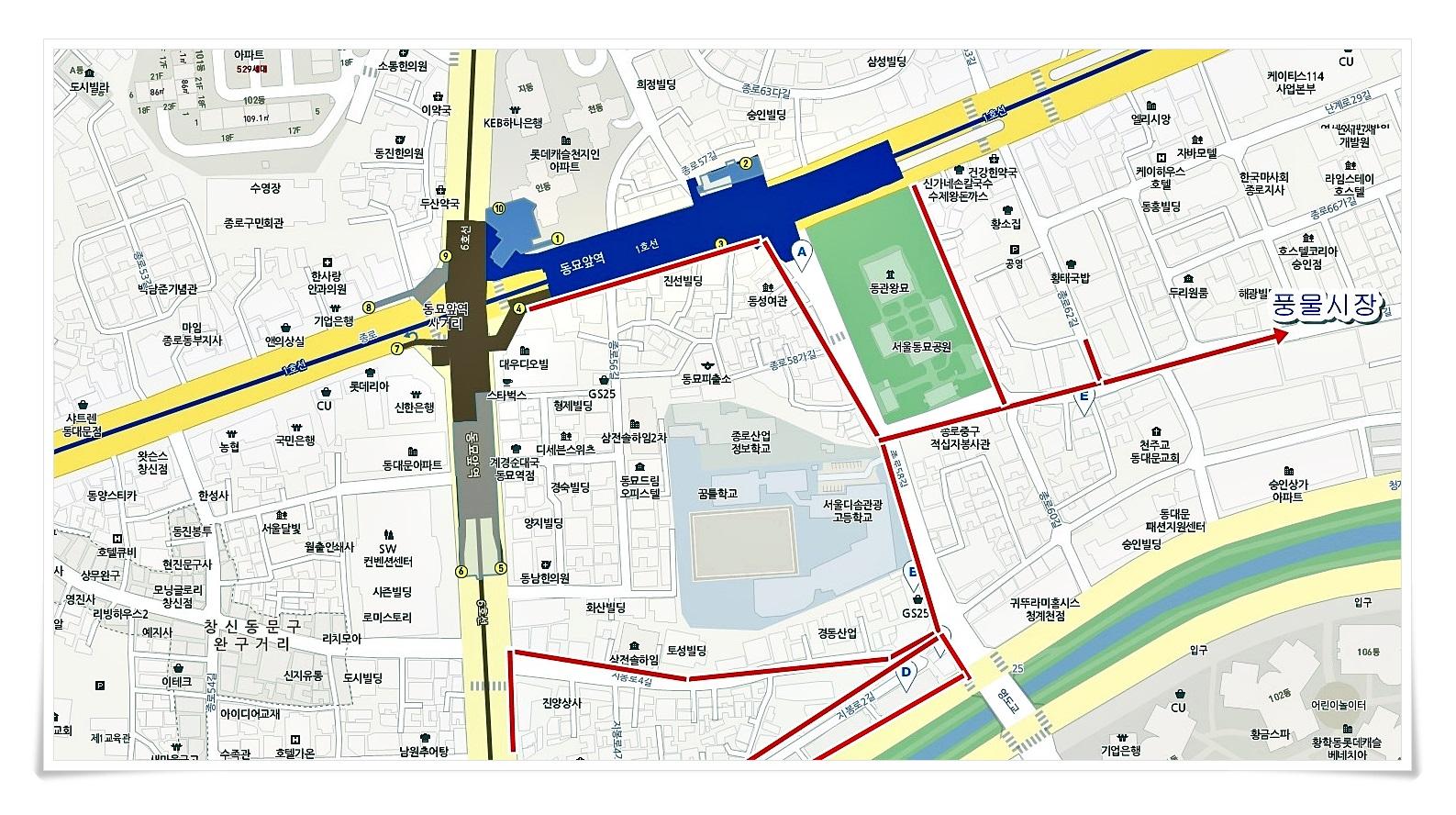 서울  동묘시장, 풍물시장
