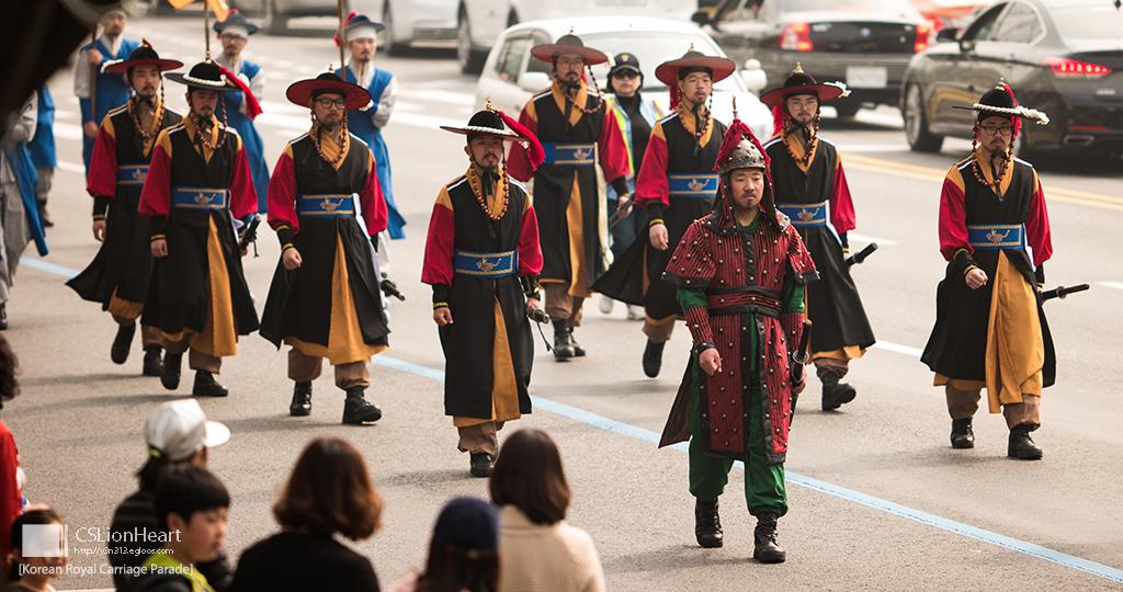 태강릉-초안산 궁중문화제: 어가행렬