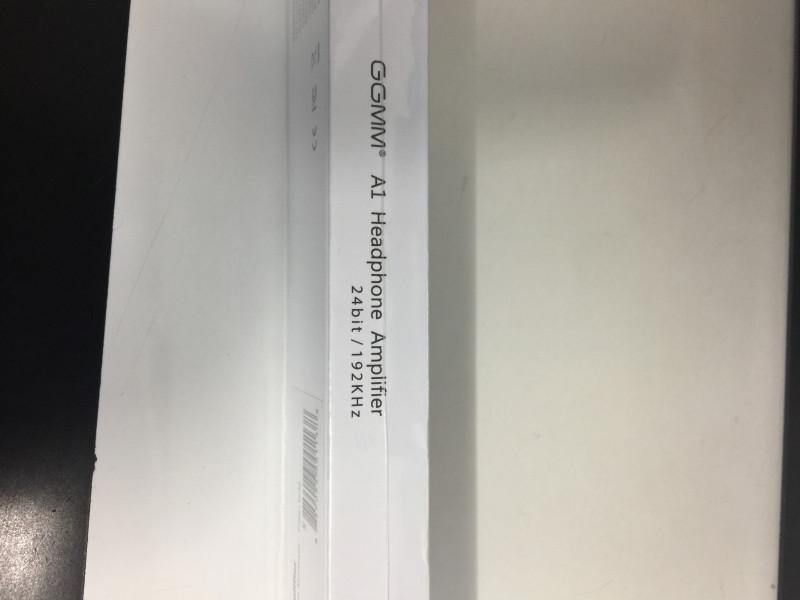 초소형 휴대용 오디오 앰프 GGMM-A1입니다.