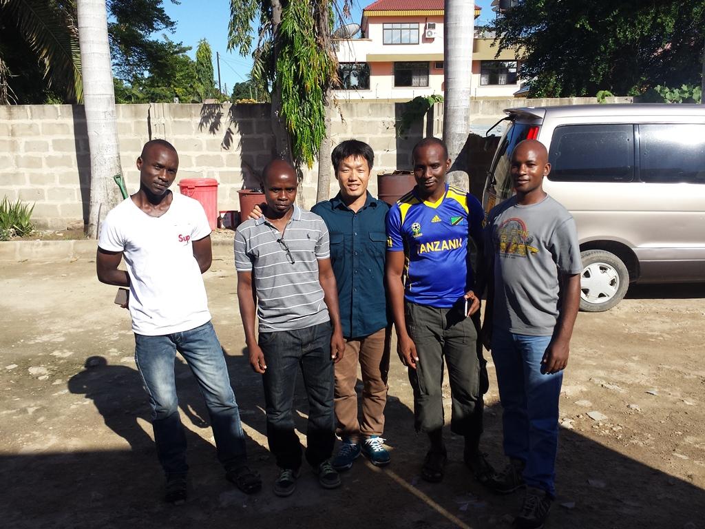 [탄자니아] 특수부대 제자들의 방문