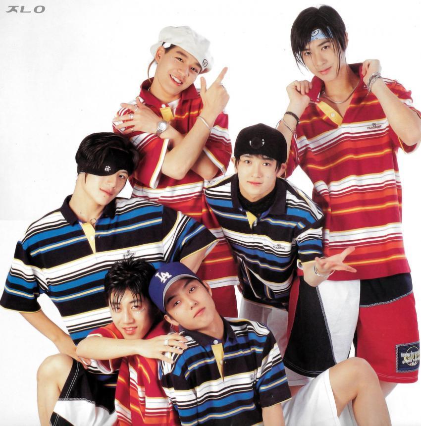 젝스키스 단체컷 -1997년
