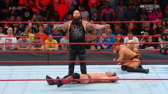 이번 주 WWE RAW 4컷 만화