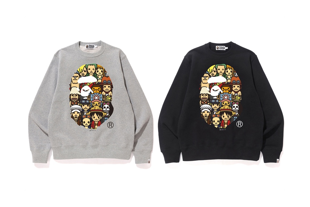 - BAPE Unveils a New 'One Piece' Collabora..