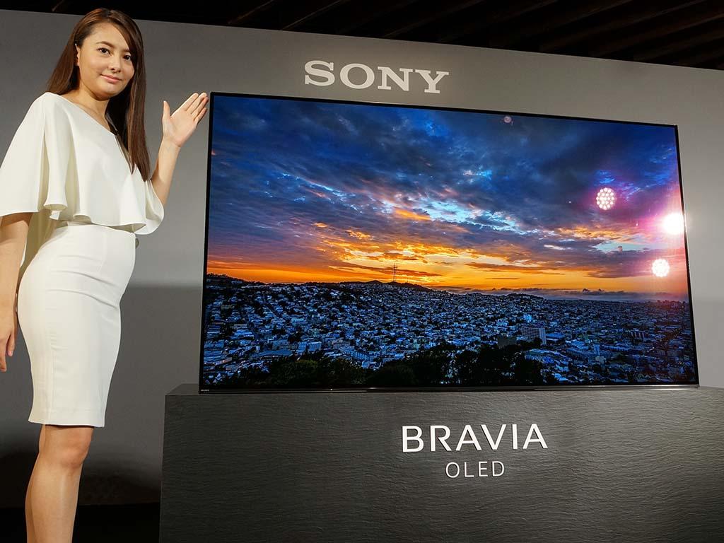 소니 일본에 새로운 TV들을 발매하다.