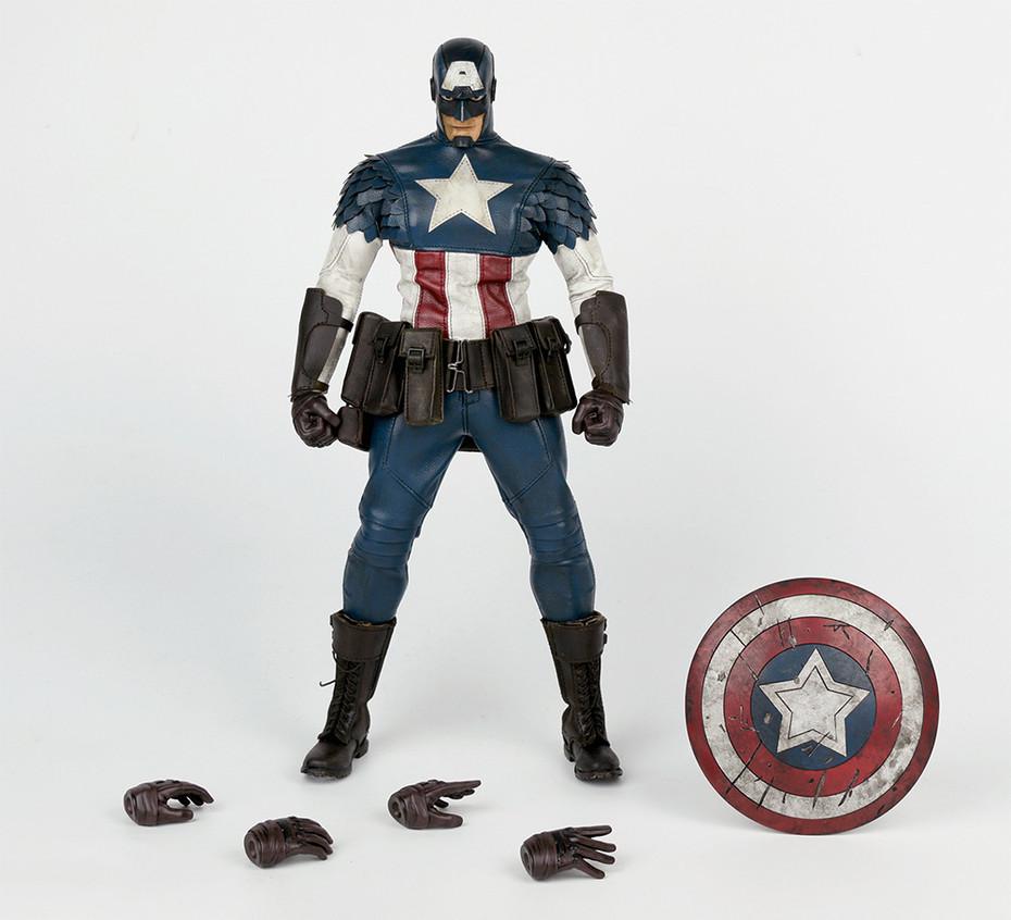 마블 코믹스 '캡틴 아메리카' 액션 피규어 샘플 사진