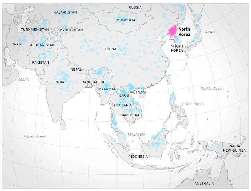 """[미국]""""북한 위치에 대한 지식과 대북정책의 관계?"""""""